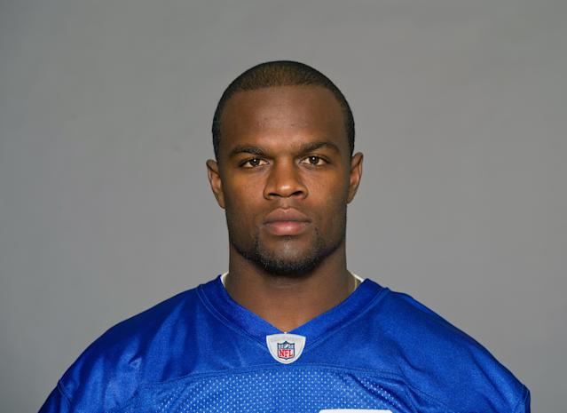 Roscoe Parrish, seen here in an NFL headshot, is charged with two felonies in Florida. (Getty)