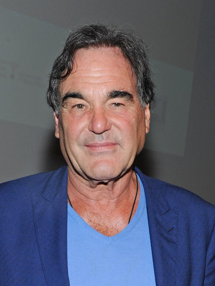 Oliver Stone<br><br>Age: 65<br><br>Achievements: The often controversial Academy Award-winning director, producer and screenwriter is best known for his work on Platoon, Born on the Fourth of July, JFK and Wall Street. <br><br>(Photo by Mike Coppola/Getty Images)