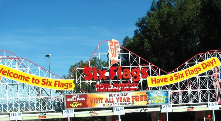 3 Summer Vacation Stocks: Six Flags (SIX)