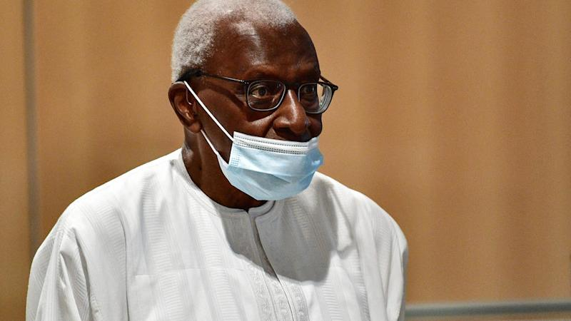 Former athletics chief Lamine Diack jailed for four years for corruption