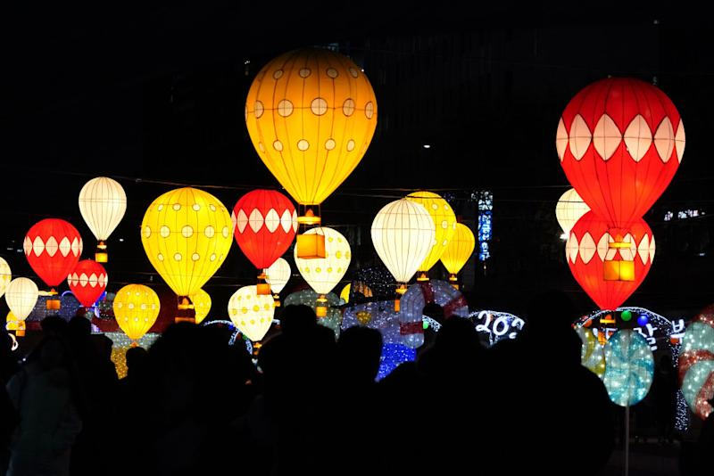 People gather to celebrate New Years on December 31, 2019 in Seoul, South Korea. | Chung Sung-Jun—Getty Images