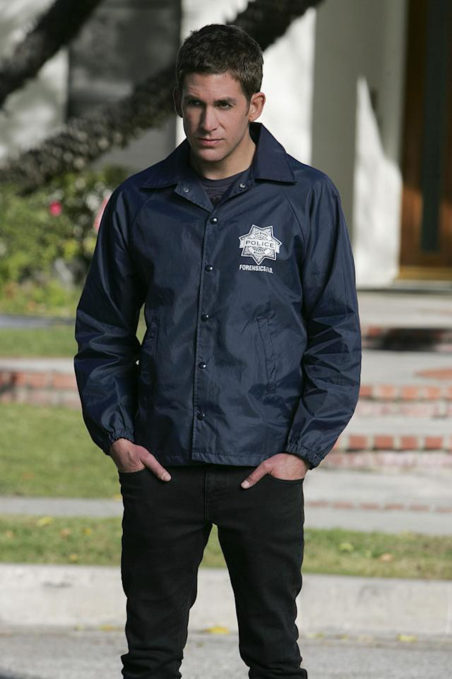 "Eric Szmanda stars as Greg Sanders in ""CSI: Crime Scene Investigation."""