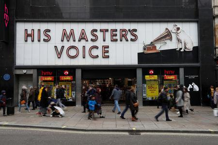 Uncertain future for HMV in Peterborough as firm is placed into administration