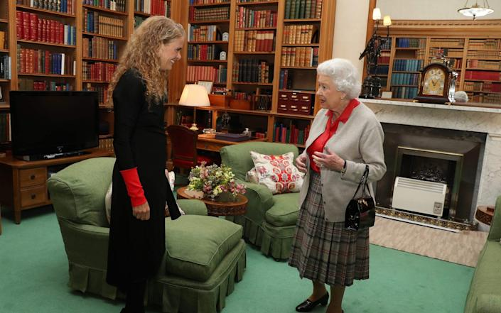 Ms Payette meeting the Queen at Balmoral - Andrew Milligan/AFP/Pool