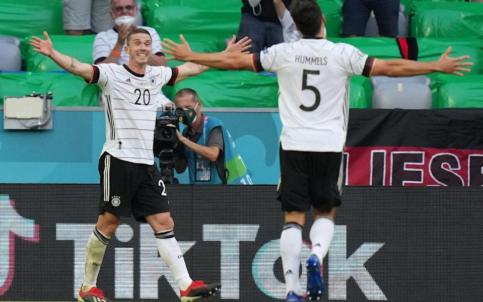 Germany romp to victory in six-goal thriller after Portugal score two own-goals - AFP