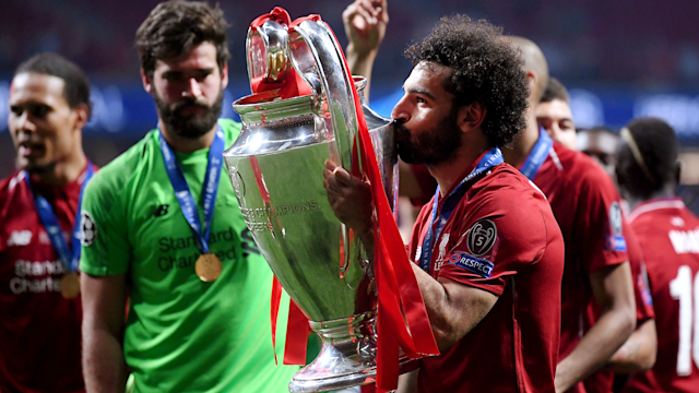 Mohamed Salah Liverpool Champions League 2018-19