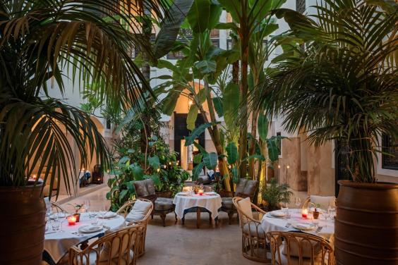 Head to Riad 72 for one of the highest roof terraces in the Medina (Riad 72)