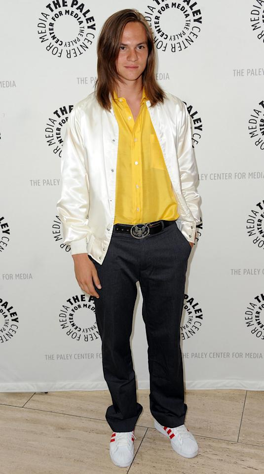 """Mark L. Young arrives at the Season 2 premiere screening of """"Awkward"""" at The Paley Center for Media on June 21, 2012 in Beverly Hills, California."""