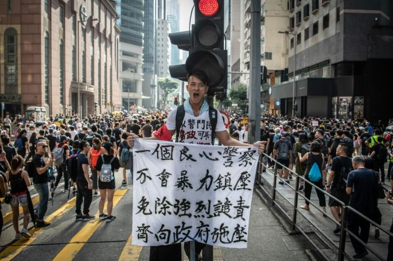 The city's leaders and Beijing have refused to budge on key protester demands (AFP Photo/Laurel CHOR)