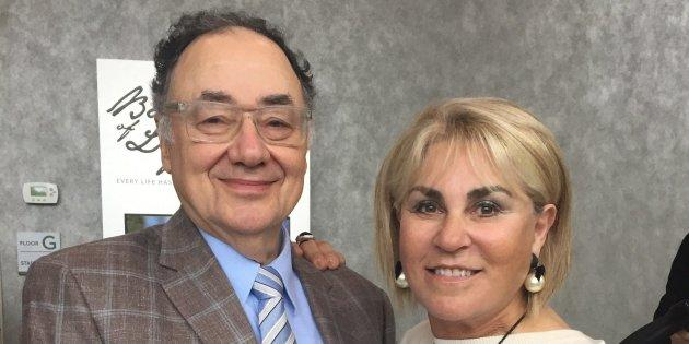 Barry and Honey Sherman are shown in a handout photo from the United Jewish Appeal.