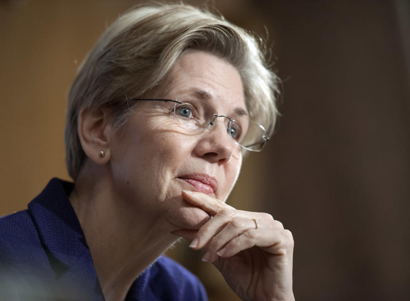 Warren starts taking on banks and regulators