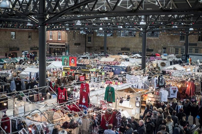Spitalfields Market offers one-of-a-kind gifts (Getty)