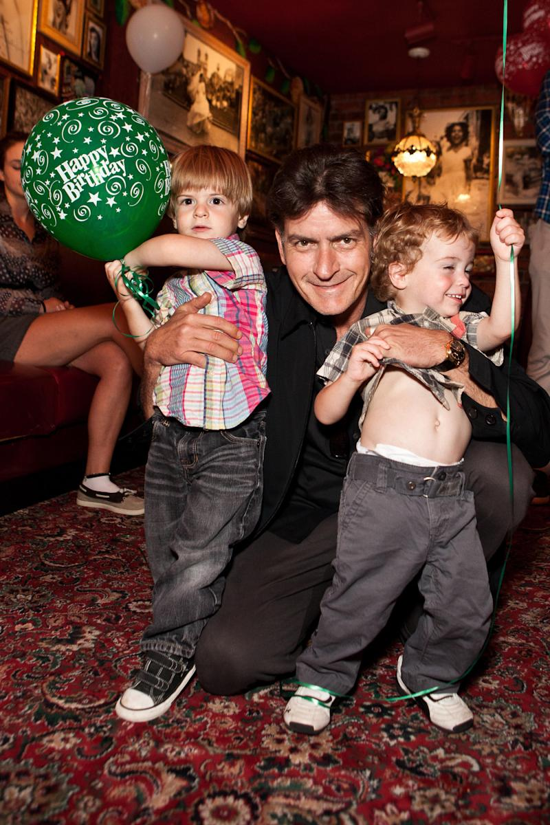 How Many Kids Does Charlie Sheen