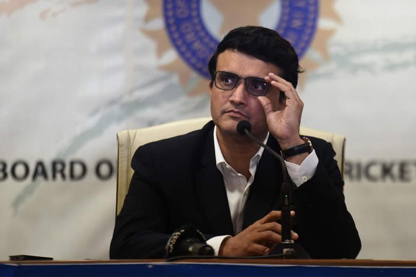 BCCI chief Sourav Ganguly (Image Credit: Twitter)