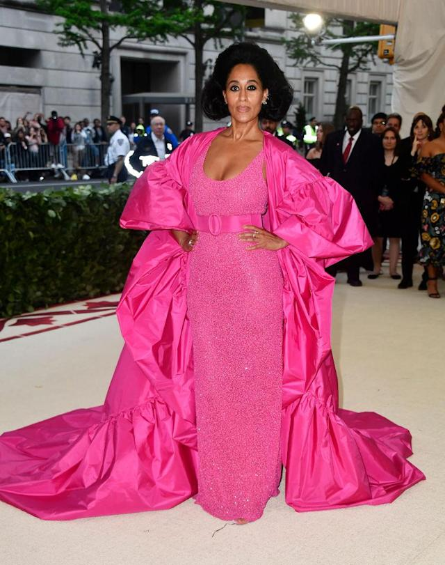 <p>Tracee Ellis Ross in Michael Kors Collection. (Photo: Getty Images) </p>