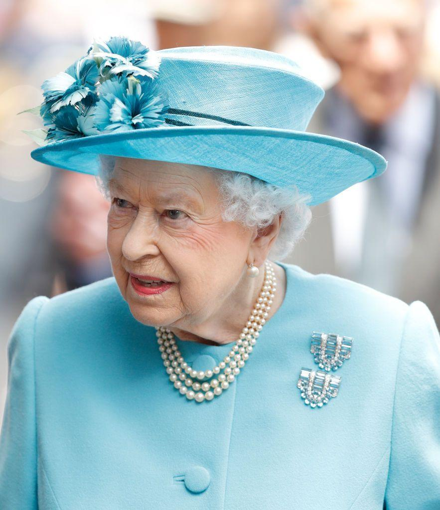 <p>This three-strand pearl necklace must be a favorite of the Queen's as she wears in frequently. Perhaps it is a go-to for the Queen because it was gifted to her by her father, King George VI, or because it is an elegant and simple piece that can be worn with many other jewels.</p>