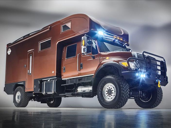 The UXV-MAX build by Global Expedition Vehicles.