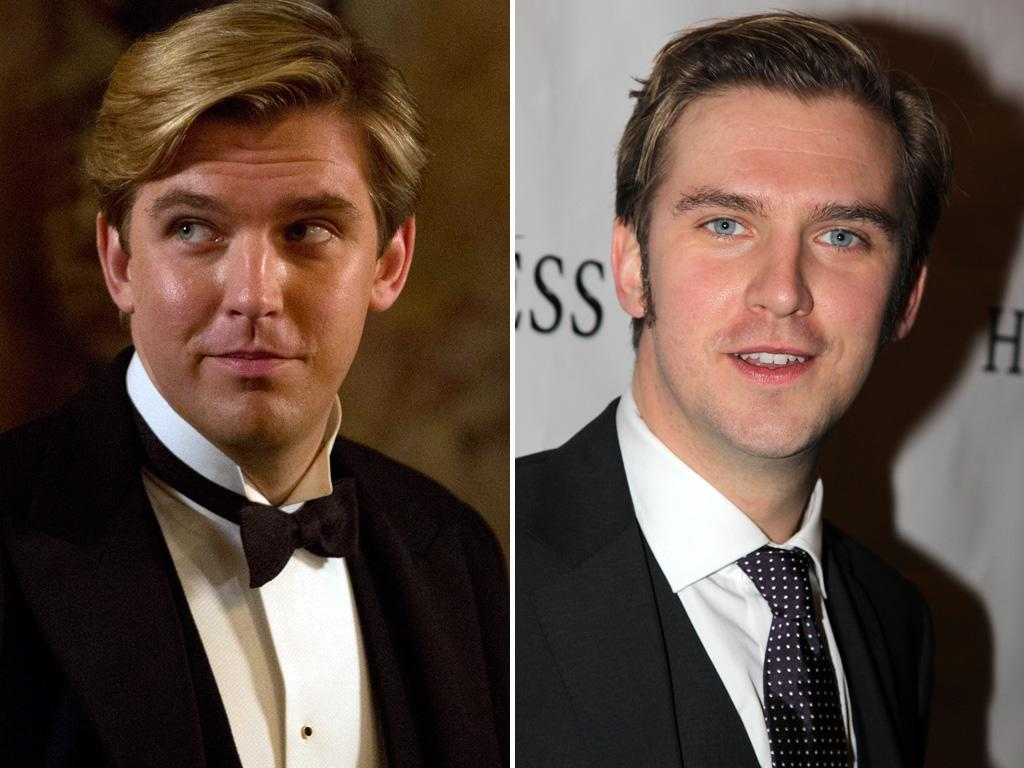 <p>Speaking of Matthew, <strong>Dan Stevens</strong> looks dashing on the red carpet... but pretty much identical to his on-screen counterpart. Are we sure we didn't time-travel here from the 1920s?</p>