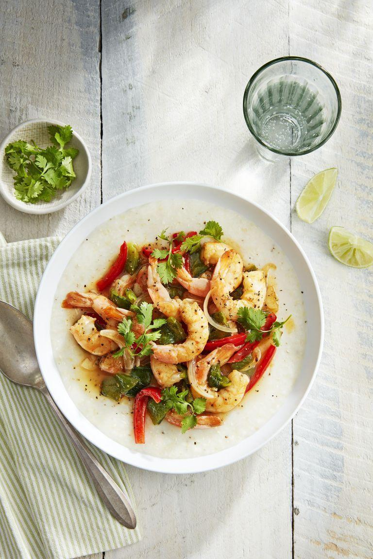 """<p>February 14 is a day to treat yourself, and this creamy, spicy shrimp and grits is a great way to indulge in one of your favorite <a href=""""https://www.countryliving.com/food-drinks/g894/comfort-foods-1109/"""" rel=""""nofollow noopener"""" target=""""_blank"""" data-ylk=""""slk:comfort foods"""" class=""""link rapid-noclick-resp"""">comfort foods</a>.</p><p><strong><a href=""""https://www.countryliving.com/food-drinks/a27891943/southwest-shrimp-and-grits-recipe/"""" rel=""""nofollow noopener"""" target=""""_blank"""" data-ylk=""""slk:Get the recipe"""" class=""""link rapid-noclick-resp"""">Get the recipe</a>.</strong></p><p><strong><strong><strong><strong><strong><a class=""""link rapid-noclick-resp"""" href=""""https://www.amazon.com/Victoria-Skillet-Seasoned-Flaxseed-Certified/dp/B01726HD72/?tag=syn-yahoo-20&ascsubtag=%5Bartid%7C10050.g.1115%5Bsrc%7Cyahoo-us"""" rel=""""nofollow noopener"""" target=""""_blank"""" data-ylk=""""slk:SHOP SKILLETS"""">SHOP SKILLETS</a></strong></strong></strong></strong><br></strong></p>"""