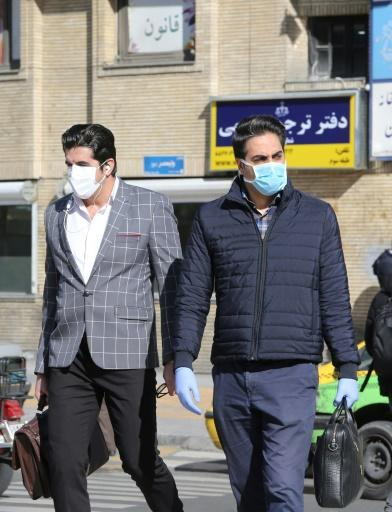 Iran's confirmed cases leapt by 523 from the previous day to 1,501
