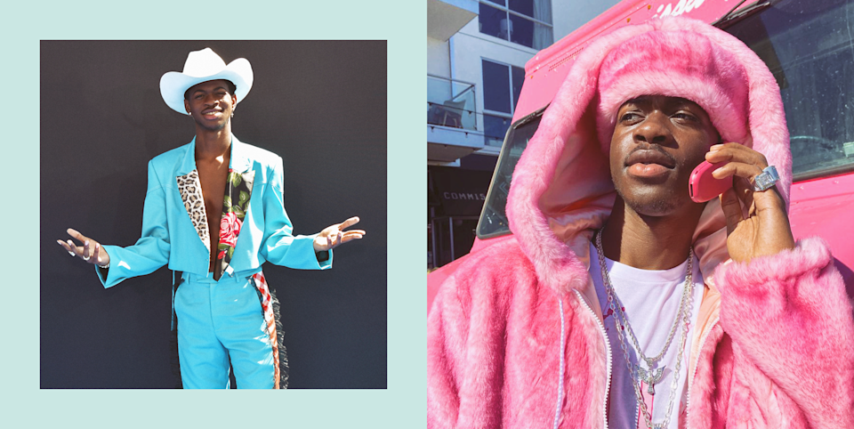 """<p>Menswear does not have to be dull, and if anybody understands the assignment it's Lil Nas X. The artist behind hits like """"Old Town Road"""" and """"MONTERO (Call Me By Your Name)"""" is known to step out in jaw-dropping, bold looks ever since he emerged onto the music scene. He's been working with the stylist <a href=""""https://www.instagram.com/hodovodo/"""" rel=""""nofollow noopener"""" target=""""_blank"""" data-ylk=""""slk:Hoda Musa"""" class=""""link rapid-noclick-resp"""">Hoda Musa</a> since May 2019, and it's safe to say that together they've established a unique game-changing style for the young star. Click through to check out 30 of his coolest and best fashion photos. </p>"""