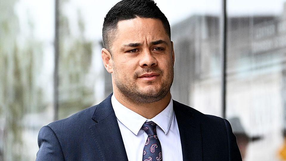 Jarryd Hayne will return to court on Monday after the jury failed to come to a unanimous decision in his rape trial. Pic: AAP