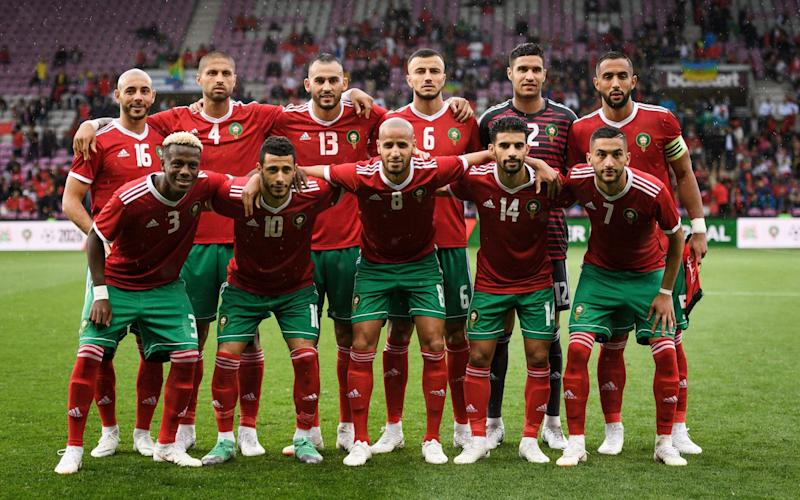 Morocco face a tough task having been drawn in the same group as Portugal and Spain - AFP