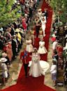 """<p>In addition to the decadent flowers, florist Shane Connelly also designed the interior of Westminster Abbey to look like a mini forest, with flowers sourced from royal estates like Windsor and Sandringham, and trees were chosen, too.</p><p>The maple trees were part of Kate's plan to simplify the wedding and show her country roots, he told the <a href=""""https://www.bbc.co.uk/news/uk-13212487"""" rel=""""nofollow noopener"""" target=""""_blank"""" data-ylk=""""slk:BBC"""" class=""""link rapid-noclick-resp"""">BBC</a>.</p><p>""""The aim is the abbey looks unpretentious and simple and natural and that it reflects the fact that Catherine is a country girl at heart and that the couple are the best of British. The trees are field maples, which is a very English native tree and the field maples symbolise reserve and humility,' Connelly said. </p>"""
