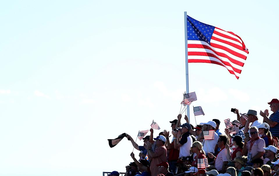 Americans are cheering about the U.S. economy right now. (Photo by David Cannon/Getty Images)