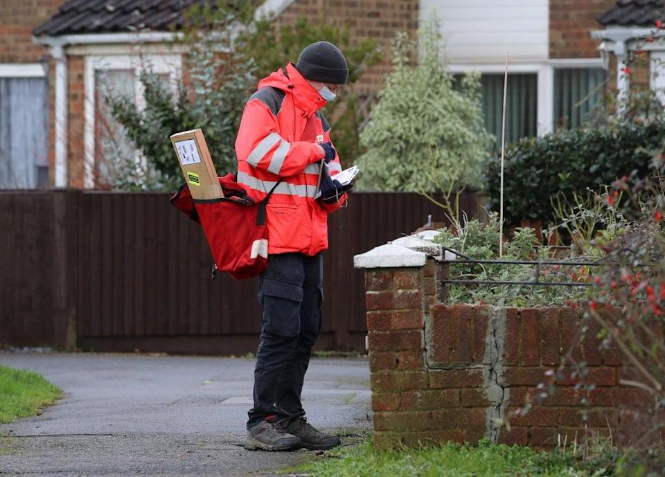 Royal Mail headed the FTSE 100 on Monday (Gareth Fuller/PA) (PA Archive)