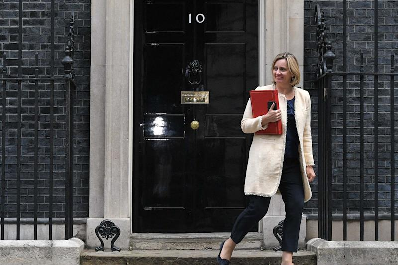 Former Work and Pensions Secretary Amber Rudd (Getty Images)