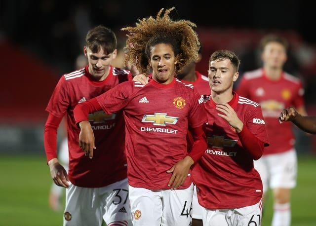 Hannibal Mejbri joined Manchester United from Monaco in 2019