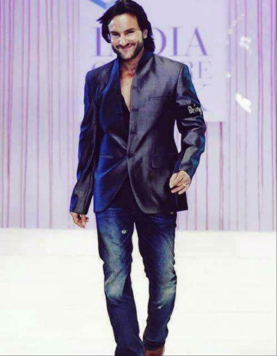 <p>His real name is Sajid Ali Khan. He changed his name to Saif after entering Bollywood. </p>