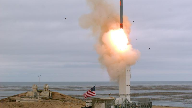 US cruise missile test will start a new arms race, says China