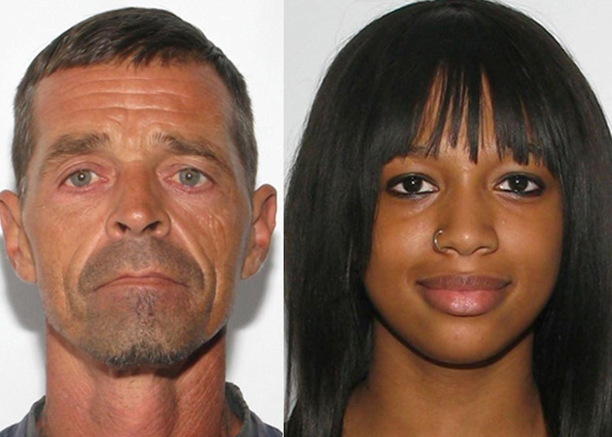 Randolph Taylor, 48, on left, was arrested in connection with the disappearance of Alexis Murphy, 17, on right.