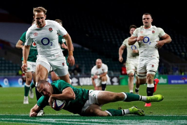 Ireland showed enough spirit and progress in the 18-7 loss to England to prompt head coach Andy Farrell to say he beleives come next March they can beat the same opponents in the Six Nations clash in Dublin
