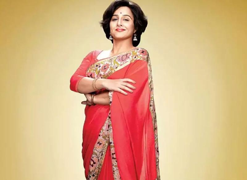 Vidya Balan in a still from 'Shakuntala Devi'. (Photo: )