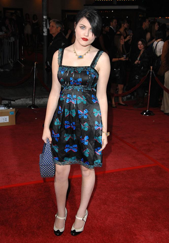 """Frances Bean Cobain at the Westwood premiere of <a href=""""http://movies.yahoo.com/movie/1810010670/info"""">Twilight</a> - 11/17/2008"""