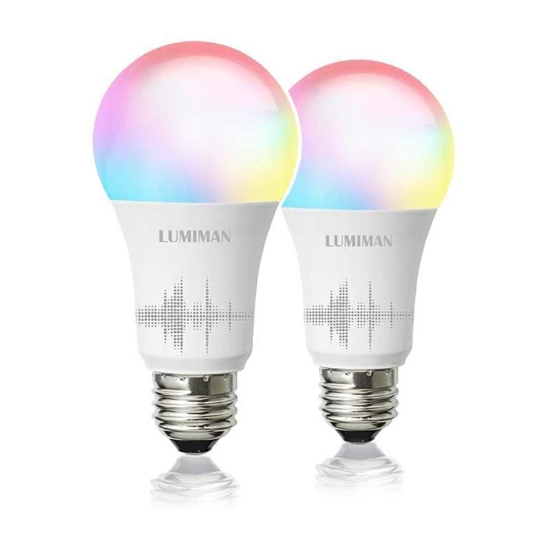 "Anything is possible in 2020, including turning their home into a mini nightclub with these neon smart light bulbs. $20, Amazon. <a href=""https://www.amazon.com/Changing-Compatible-Assistant-Multicolor-LUMIMAN/dp/B07DLSNNDS/ref=sr_1_4_sspa?"" rel=""nofollow noopener"" target=""_blank"" data-ylk=""slk:Get it now!"" class=""link rapid-noclick-resp"">Get it now!</a>"