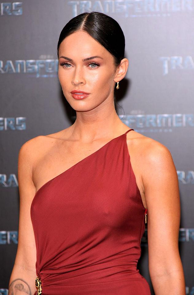 """<a href=""""http://movies.yahoo.com/movie/contributor/1808488000"""">Megan Fox</a> at the Berlin premiere of <a href=""""http://movies.yahoo.com/movie/1809943432/info"""">Transformers: Revenge of the Fallen</a> - 06/14/2009"""