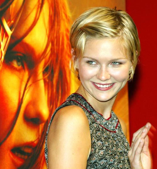 <p>Her cutesy-pie hair in this photo proves that despite growing out of child star status, Kirsten still retains that youthful innocence.</p>