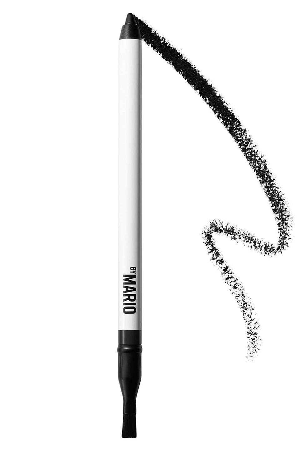 "<p><strong>$22.00</strong></p><p><a href=""https://www.makeupbymario.com/products/master-pigment-pro%E2%84%A2-pencil?variant=Super+Black"" rel=""nofollow noopener"" target=""_blank"" data-ylk=""slk:Shop Now"" class=""link rapid-noclick-resp"">Shop Now</a></p><p>It's no secret that <a href=""https://www.cosmopolitan.com/style-beauty/beauty/a34192962/mario-dedivanovic-makeup-by-mario-review/"" rel=""nofollow noopener"" target=""_blank"" data-ylk=""slk:I'm basically in love with this eyeliner pencil"" class=""link rapid-noclick-resp"">I'm basically in love with this eyeliner pencil</a> (the Save the Dates are going in the mail soon). The <strong>gel-like formula glides right on and it doesn't fade, </strong>no matter how greasy your eyelids get. The brush on the opposite end of the pencil is also perf if you want to smudge out your liner and create a smokey eye look.</p><p><strong>✨ PROMOTION:</strong> 15% off + free standard domestic shipping with promo code <strong>HAULIDAY</strong></p>"