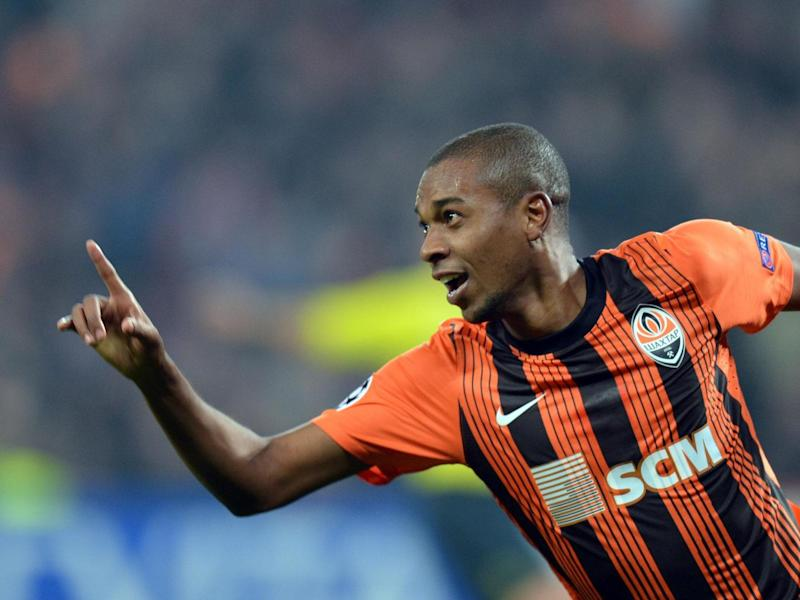 Fernandinho played in Ukraine for his move to City (Getty)