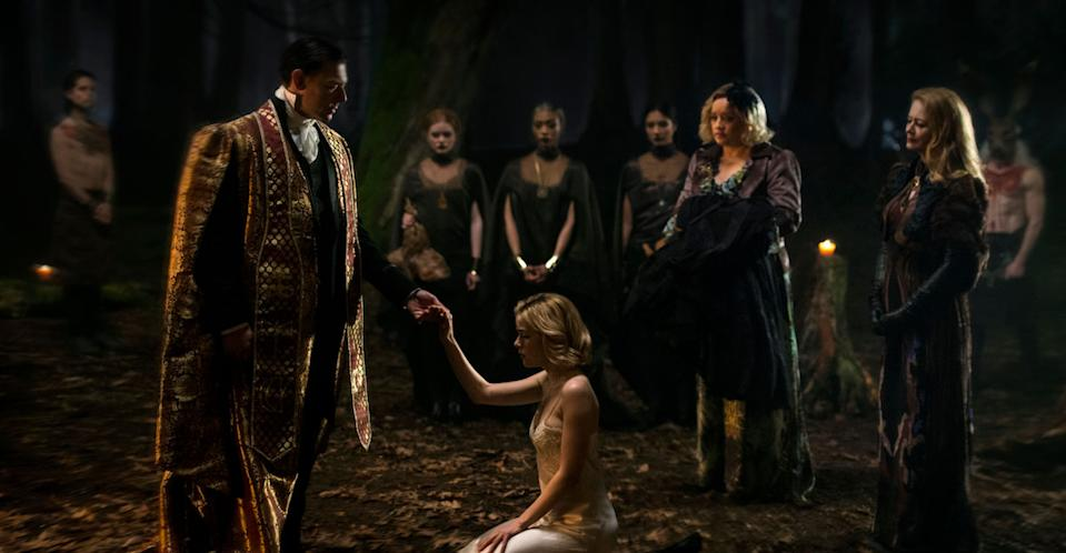 Chilling Adventures of Sabrina is a world away from Sabrina the Teenage Witch. (Netflix)