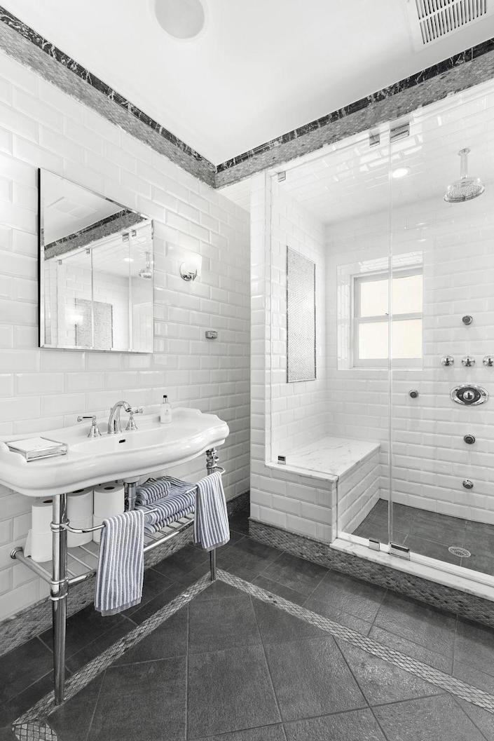 7) The home is complete with four-and-a-half bathrooms...