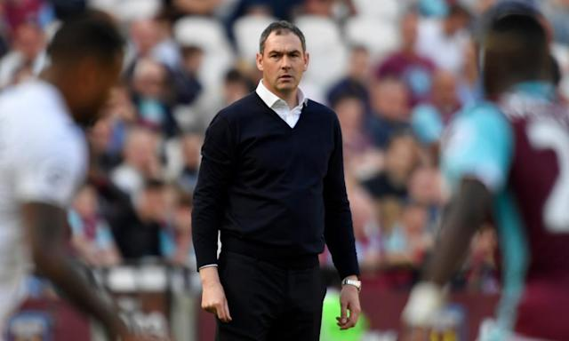 """<span class=""""element-image__caption"""">Paul Clement was appointed by Swansea in January and is set to stay regardless of whether he keeps the club in the Premier League.</span> <span class=""""element-image__credit"""">Photograph: Tony O'Brien/Reuters</span>"""