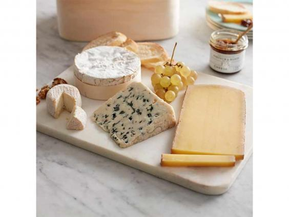 Treat yourself to this lavish line-up of French cheeses (Fortnum & Mason)