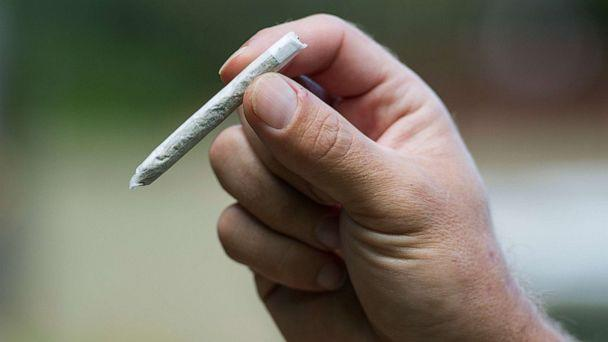 PHOTO: A person holds a marijuana joint in this stock photo. (STOCK PHOTO/Getty Images )