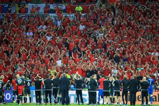 Wales fans turned out in their thousands at Euro 2016 in France (Mike Egerton/PA)