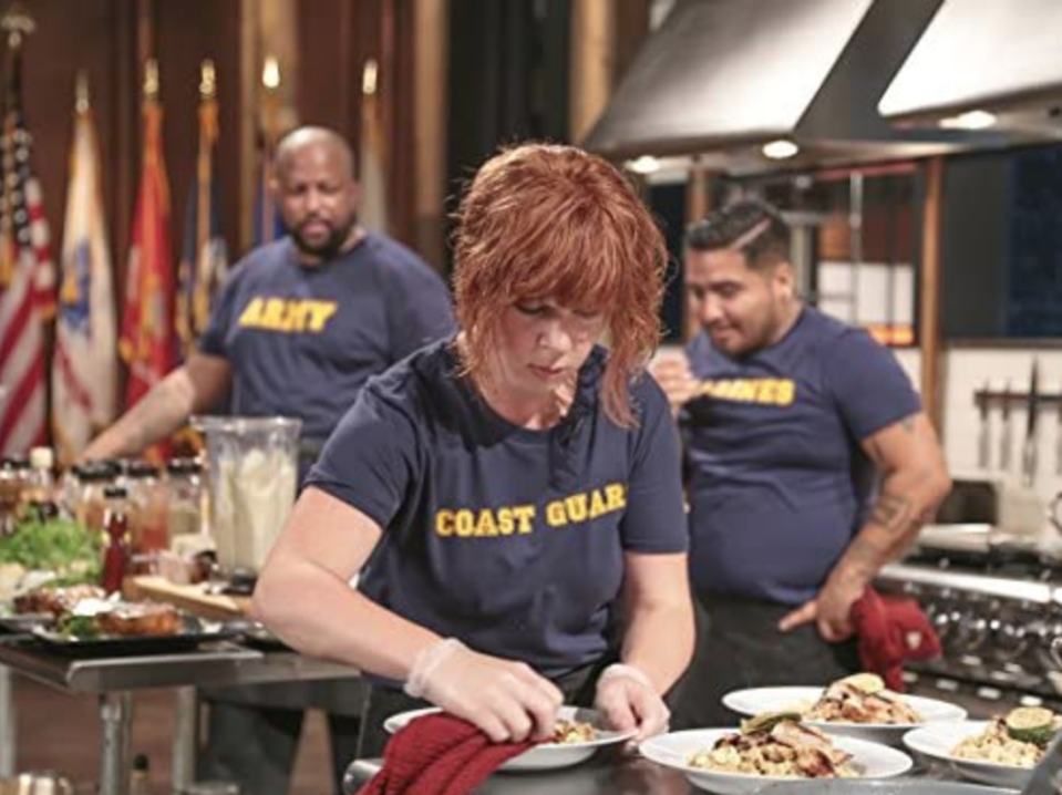 """<p>The Food Network <a href=""""https://cookingcontestcentral.com/chopped-casting/"""" rel=""""nofollow noopener"""" target=""""_blank"""" data-ylk=""""slk:films special episodes"""" class=""""link rapid-noclick-resp"""">films special episodes</a> with amateur cooks, such as """"grandmas who cook"""" or """"firefighters who bring the heat in the kitchen,"""" in which case no professional experience is needed.</p>"""